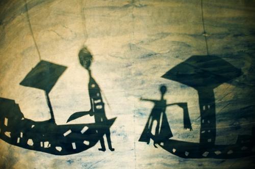 théâtre d'ombres, stage ombres, l'écran actif, compagnie ABOUDBRAS