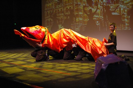 Stages ateliers, compagnie ABOUDBRAS, marionnette, exrpression, Strasbourg, Alsace, Vosges, carnaval