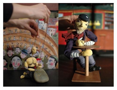 De l'art et du lien, CD 67, Cie ABOUDBRAS, théâtre de poche, marionnette et lien social, marionnette et handicap, théâtre de proximité, Action culturelle