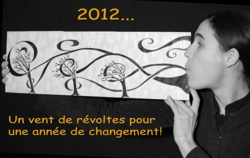 bonne année, bonne fin du monde, meilleures voeux, compagnie aboudbras, conte, marionnette et formes visuelles
