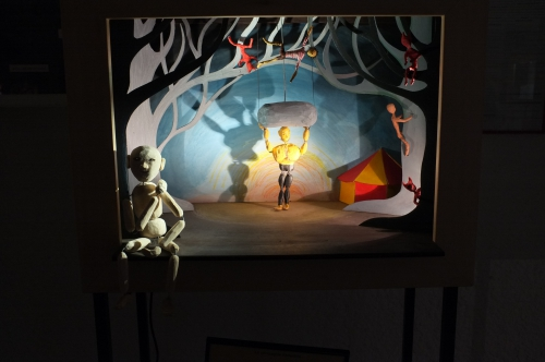 cie ABOUDBRAS, Jessica Blanc, Jérôme Saint-Martin, association Marilor, marionnettistes de Loarraine, Marilor des boîtes, marionnette lorraine
