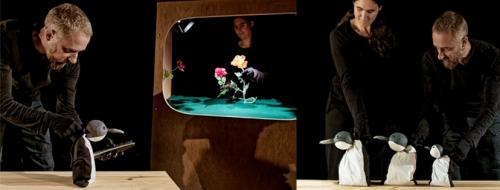 Spectacle jeune public prévention écrans, Parlons de nos usages des écrans en famille spectacle, spectacle prévention risques écrans, Compagnie ABOUDBRAS, théâtre de marionnette prévention écrans, Théâtre Vosges Alsace, Théâtre Grand Est