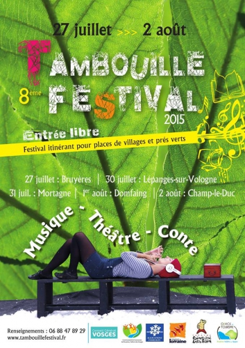 Tambouille festival, Cie ABOUDBRAS, Compagnie Vosges, Conte marionnette, Champ-le-duc, théâtre demarionnettes, Terra Madre, spectacle jeune public, spectacle tout public, spectacle thème terre, marionnette conte Lorraine