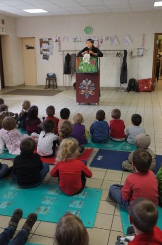 Coeur d'Alice, stéphane servant, compagnie ABOUDBRAS, pédagogie marionnettes, sensibilisation au handicap
