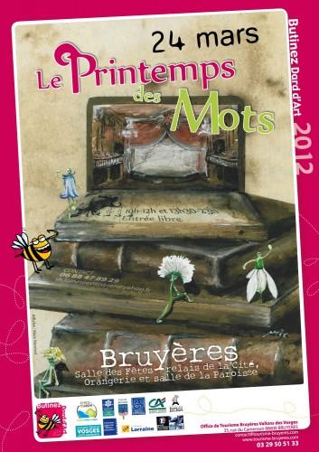 Printemps mots, printemps lecture de Bruyères, Compagnie ABOUDBRAS