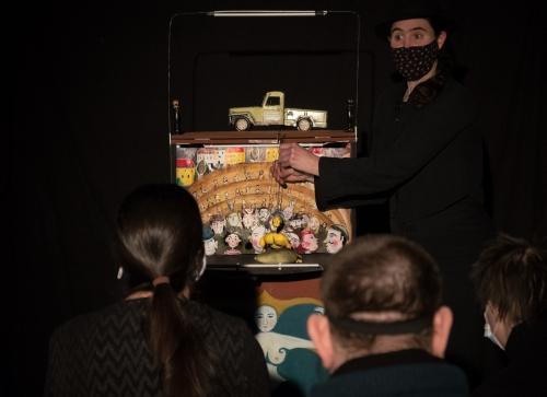 Théâtre de poche, cie ABOUDBRASe l'art et du lien, CD67 Bas-Rhin, ABOUDBRAS action culturelle, spectacle de proximité, Artenréel#1