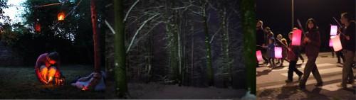 ballade contée, compagnie ABOUDBRAS, promenade contée Halloween, contes aux lampion, compagnie conte lorraine alsace, amnéville tourisme