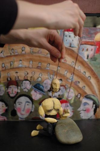 compagnie ABOUDBRAS, spectacle marionnettes grande Région, Eupen, FIGUMA, Sunergia, Théâtre Belgique, Lorraine Alsace, compagnie marionnettes, théâtre, théâtre d'objets, jean-claude Mourlevat,  Figurentheater, Objekttheater, Puppenspielkunst