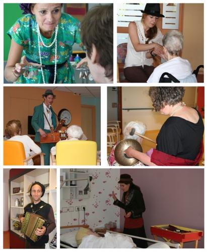 l'art et l'être, interventions artistiques et de bien être en Ehpads, festival à destnation des Ehpads, ARTENREEL