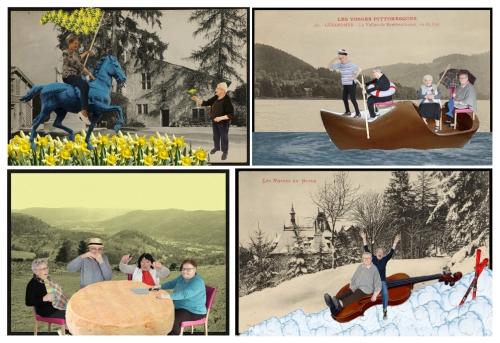 ma vie de valise, Vosges vu de l'intérieur et vu d'ailleurs, Conseil Départemental des Vosges, Cie ABOUDBRAS, Archives départementales des Vosges