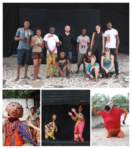 ivoire marionnettes, compagnie aboudbras, marionnette en côte d'ivoire