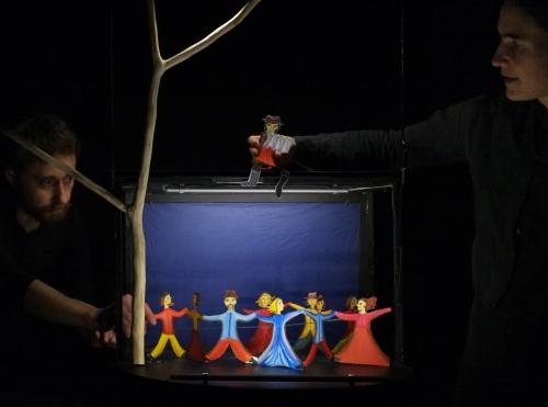 spectacle La lune, contes de la nuit, théâtre de papier, théâtre de poche, contes de la nuit, mjc Pompey, CLAS