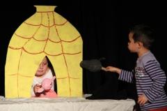 atelier la forêt des contes, atelier marionnette contes, Mercredynamiques, ville Epinal, animations municipales, compagnie ABOUDBRAS, Jessica Blanc